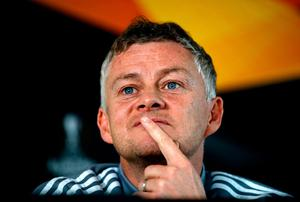 Manchester United boss Ole Gunnar Solskjaer was reluctant to be drawn into the conversation surrounding the lifting of Manchester Citys European ban. Martin Rickett/PA Wire.