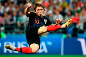 FLYING HIGH: Luka Modric has starred in this tournament. Photo: Getty Images