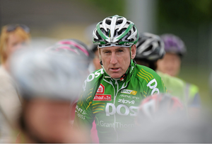 Irish cycling legend Sean Kelly ahead of the first An Post Cycle Series event in 2010. Sligo Town, Co. Sligo. Picture credit: Pat Murphy / SPORTSFILE