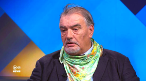 Ian Bailey during the interview
