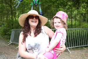 Catherine Kerry with daughter Fern (3)