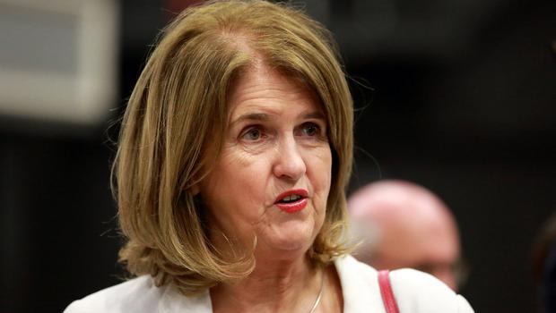 High-profile casualty: Former Tánaiste Joan Burton. Photo: Frank McGrath