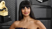 Jameela Jamil attends the 62nd Annual GRAMMY Awards at STAPLES Center on January 26, 2020 in Los Angeles, California. (Photo by Frazer Harrison/Getty Images for The Recording Academy)
