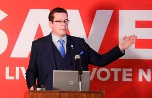 Undermined: No campaigner John McGuirk. Photo: Leah Farrell/RollingNews.ie