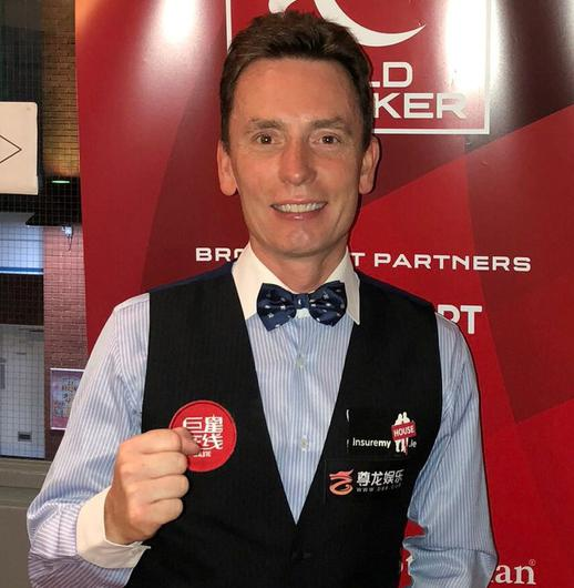 Ken Doherty was defeated by Mark King