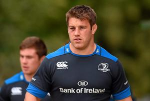 Sean O'Brien will captain the Leinster side for their opening game of the Pro12 season against Glasgow Warriors. Photo: Stephen McCarthy / SPORTSFILE