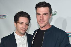 LOS ANGELES, CA - FEBRUARY 21:  John Magaro and Finn Wittrock attend Oscar Wilde Awards 2019 at  on February 21, 2018 in Los Angeles, California.  (Photo by Alberto E. Rodriguez/Getty Images for US-Ireland Alliance )