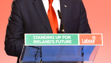Joan Burton said Alan Kelly (pictured) was doing 'what he should be doing' in his constituency Photo: Barbara Lindberg