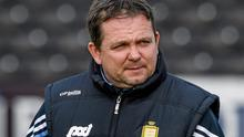 Disappointed: Clare hurling boss Davy Fitzgerald