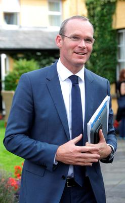 Simon Coveney believes that the market will soon pick up