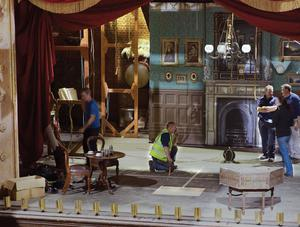 A set from Sky One's Penny Dreadful