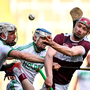 19 January 2020; Niall Kenny of Borris-Ileigh in action against Michael Fennelly of Ballyhale Shamrocks, left, during the AIB GAA Hurling All-Ireland Senior Club Championship Final at Croke Park in Dublin. Photo by Seb Daly/Sportsfile