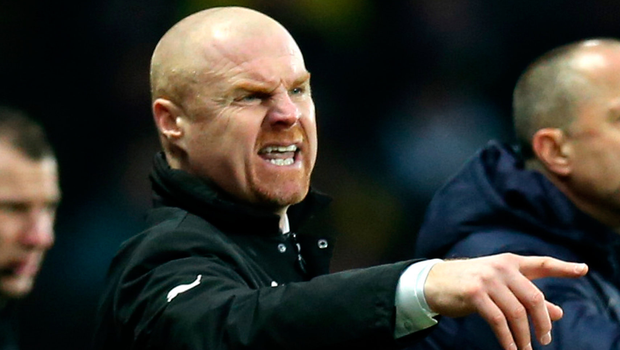 Burnley manager Sean Dyche. Photo: Getty Images
