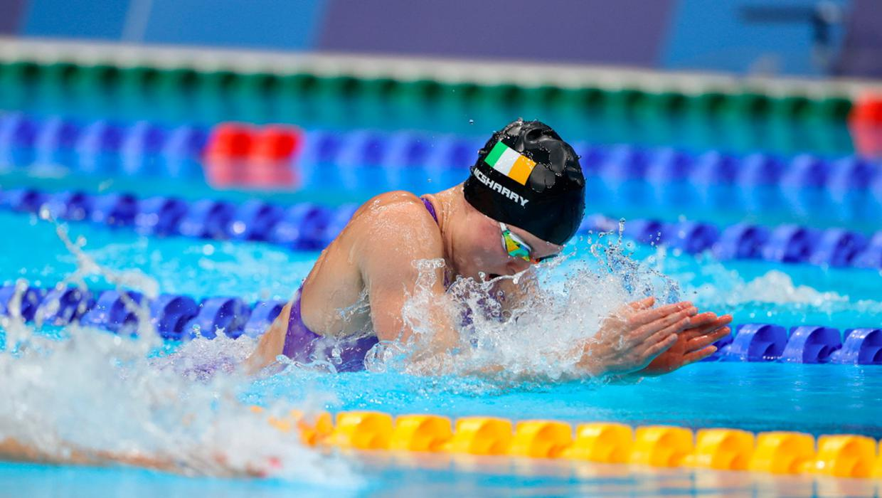 Tokyo Olympics: Magnificent Mona McSharry becomes first Irish swimmer to make Olympic final for 25 years with stunning performance