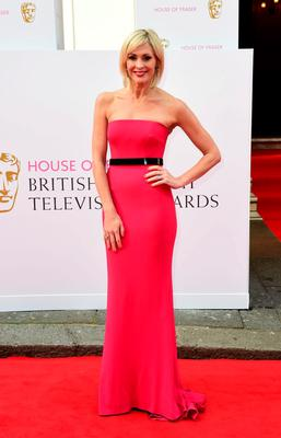 Jenni Falconer arrives for the House of Fraser British Academy of Television Awards at the Theatre Royal, Drury Lane in London. PRESS ASSOCIATION Photo. Picture date: Sunday May 10, 2015. See PA story SHOWBIZ Bafta. Photo credit should read: Ian West/PA Wire