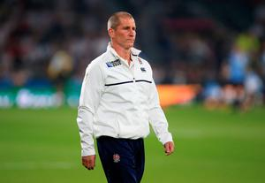 England head coach Stuart Lancaster ahead of the match against Fiji at Twickenham. Mike Egerton/PA Wire.