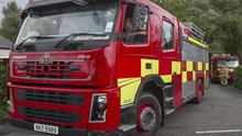 The fire service found the blaze had started deliberately
