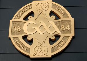 GAA 8/10/2008 General view of the GAA crest Mandatory Credit ©INPHO/James Crombie *** Local Caption ***
