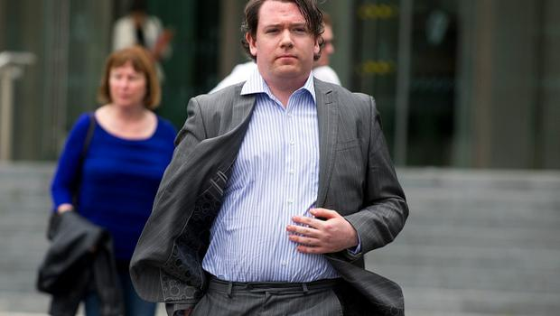 Shane O'Brien at Dublin Circuit Criminal Court
