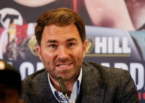 Promoter Eddie Hearn. Photo: Ed Sykes/Action Images via Reuters