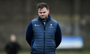 BAD TIMING: Wicklow manager Davy Burke was looking forward to hosting Antrim at Aughrim this weekend. Photo by Piaras Ó Mídheach/Sportsfile