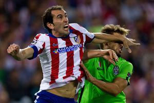 Name: Diego Godin | Age: 28 | Club: Atletico Madrid | Possible fee: £30m | Interested clubs: Manchester United. Photo: Gonzalo Arroyo Moreno/Getty Images
