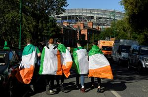 Republic of Ireland fans outside the stadium before the match   Action Images via Reuters/Tony O'Brien
