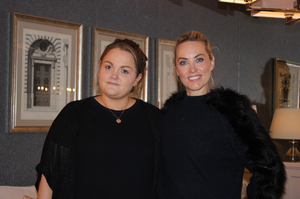 Operation Transformation leader Felicity Moroney with Kathryn Thomas. PIC: RTE