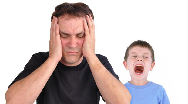 Losing your patience with children