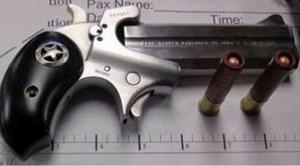 One of the confiscated items by the TSA