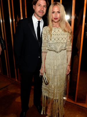 NEW YORK, NY - JUNE 01:  Rodger Berman (L) and  Rachel Zoe attend the official CFDA Fashion Awards after party co-Hosted by Refinery29 at The Top of The Standard on June 1, 2015 in New York City.  (Photo by Dimitrios Kambouris/Getty Images for Refinery29)
