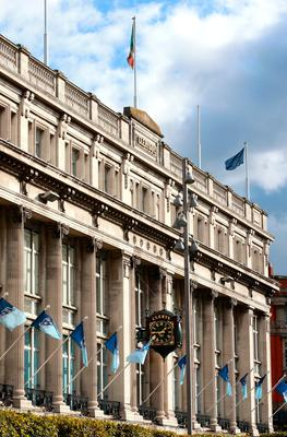 The iconic Clerys department store building on Dublin's O'Connell Street   Picture: Frank Mc Grath