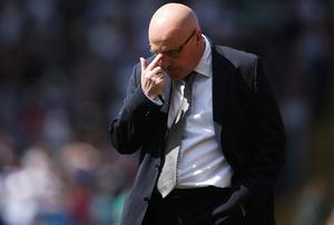 Brian McDermott, manager of Leeds United