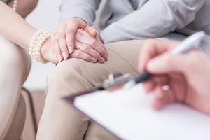 Seeing a professional can proivide support through the emotional turmoil of bereavement