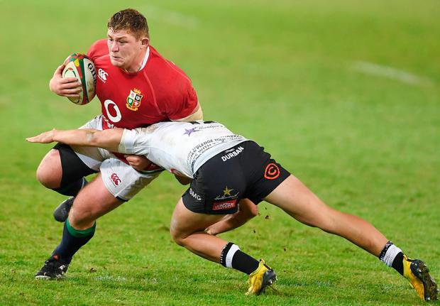 Tadgh Furlong will start the first British & Irish Lions Test against South Africa in Cape Town. Picture: Sportsfile