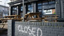 Pubs have been closed since March (Dominic Lipinski/PA)