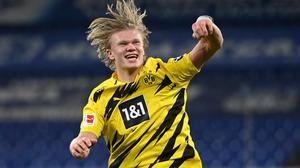 Borussia Dortmund's Erling Braut Haaland is wanted by Europe's top clubs. REUTERS/Ina Fassbender DFL