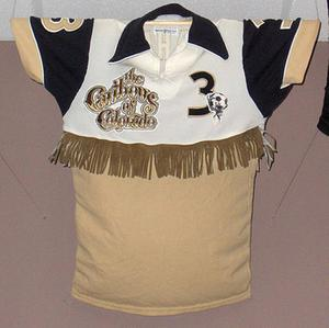 Caribous of Colorado This is genuinely a football shirt - used some time ago by Caribous of Colorado in the US