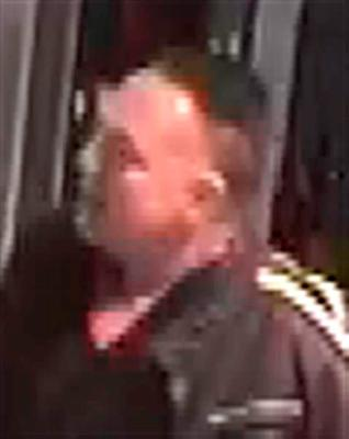 BEST QUALITY AVAILABLE Handout CCTV image dated 16/9/2015 issued by Metropolitan Police of  a man they would like to speak to in connection with an assault on a security guard during a black cab drivers' protest at City Hall, London. The guard was knocked unconscious when trouble flared on Wednesday. PRESS ASSOCIATION Photo. Issue date: Thursday September 17, 2015. See PA story POLICE Mayor. Photo credit should read: Metropolitan Police/PA Wire  NOTE TO EDITORS: This handout photo may only be used in for editorial reporting purposes for the contemporaneous illustration of events, things or the people in the image or facts mentioned in the caption. Reuse of the picture may require further permission from the copyright holder.