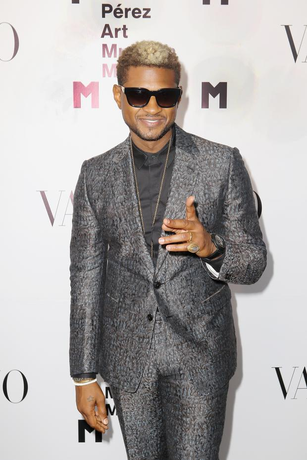 A woman who alleges Usher may have exposed her to genital herpes has gone public with her accusations