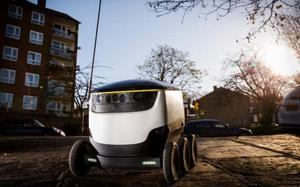 The Starship robot delivery robot