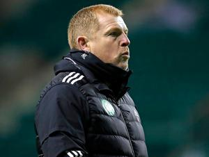 Celtic manager Neil Lennon. Photo: PA