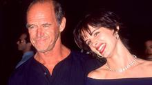 """WEST HOLLYWOOD, CA - AUGUST 23:   Actress Juliette Lewis and father actor Geoffrey Lewis attend the """"Kalifornia"""" West Hollywood Premiere on August 23, 1993 at the DGA Theatre in West Hollywood, California. (Photo by Ron Galella, Ltd./WireImage) *** Local Caption *** Geoffrey Lewis;Juliette Lewis"""