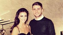 Footballer Robbie Brady and fiancée Kerrie Harris. Picture: Instagram