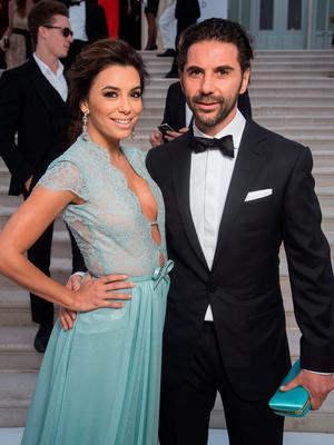 Actress Eva Longoria and Jose Antonio Baston attend amfAR's 22nd Cinema Against AIDS Gala, Presented By Bold Films And Harry Winston at Hotel du Cap-Eden-Roc on May 21, 2015 in Cap d'Antibes, France.  (Photo by Pascal Le Segretain/amfAR15/WireImage)