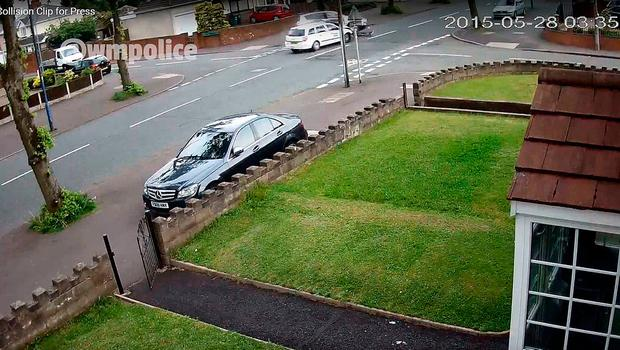 CCTV still issued by West Midlands Police of the accident Credit: West Midlands Police/PA Wire
