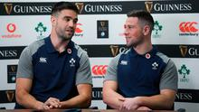 Feeling the heat: Conor Murray says John Cooney's impressive form has sharpened his focus. Photo: Ramsey Cardy/Sportsfile