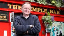 'Ridiculous situation': Owner Tom Cleary outside the Temple Bar pub in Dublin. Photo: Frank McGrath