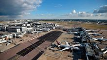 File photo dated 11/10/16 of Heathrow Airport. Photo: Hannah McKay/PA Wire