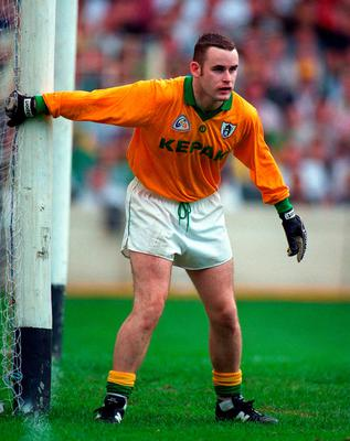 LIFE LESS ORDINARY: Meath goalkeeper Conor Martin in action against Dublin in 1996. Photo: David Maher/Sportsfile